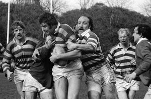 Gosforth face London Welsh in the 1977 John Player Cup semi-final
