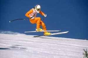 Graham Bell - 1987 FIS World Ski Championships