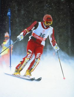 Graham Bell - 1988 Calgary Winter Olympics - Men's Combined Slalom