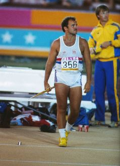 Great Britain's Roald Bradstock at the 1984 Los Angeles Olympics