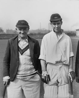 Harry Makepeace & Nigel Howard - Lancashire C.C.C.