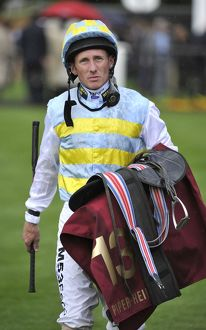 Horse Racing - Newmarket Races - July Cup Meeting. Jockey Paul Hanagan.