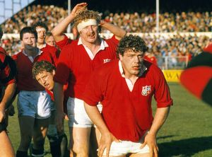 Iain Milne and Maurice Colclough - 1983 British Lions Tour of New Zealand