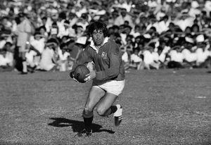 Ian McGeechan on the ball for the British Lions in 1974