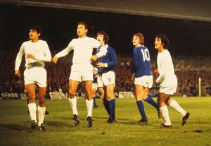 Ipswich take on Real Madrid in the 1973/4 UEFA Cup