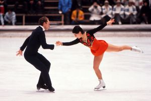 Irina Rodnina and Alexei Ulanov - 1972 Sapporo Winter Olympics - Mixed Pairs
