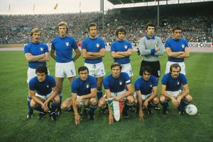 Italy Team Group - 1974 World Cup