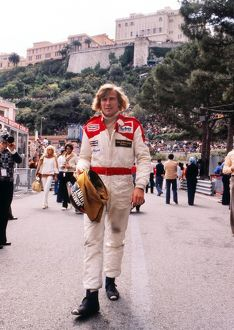 James Hunt at 1978 Monaco Grand Prix.