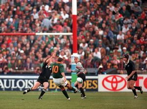 joel stransky kicks winning drop goal 1995