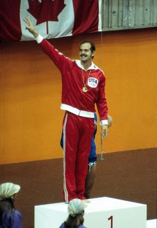 John Naber at the 1976 Montreal Olympics