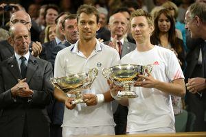 Jonathan Marray and Frederik Nielsen - 2012 Wimbledon Men's Doubles Winners