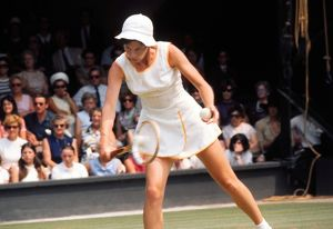 Joyce Williams - 1970 Wightman Cup