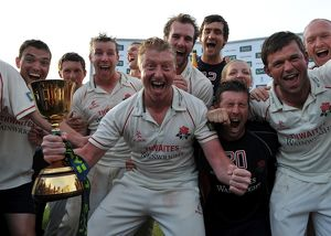 Lancashire win the 2011 County Championship
