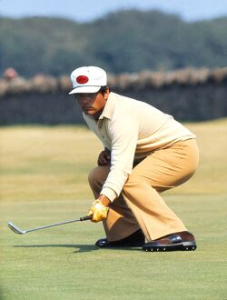 Lee Trevino at the 1972 Open Championship