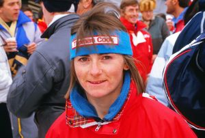 Lesley Beck - 1988 Calgary Winter Olympics - Opening Ceremony