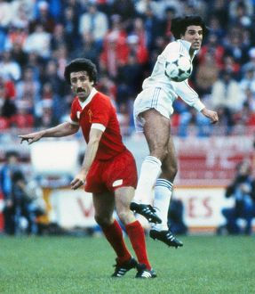 Liverpool's David Johnson - 1981 European Cup Final