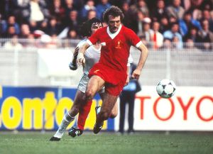 Liverpool's Ray Kennedy - 1981 European Cup Final