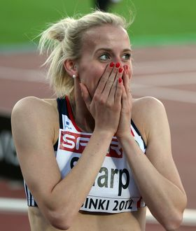 Lynsey Sharp wins 800m silver at the 2012 European Championships
