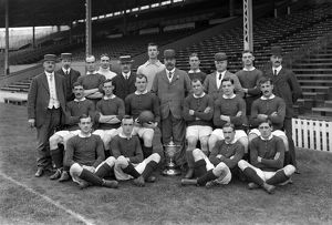 Manchester United - 1909 FA Cup Winners