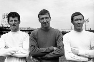 Max Dougan, Anthony Read, Fred Jardine - Luton Town