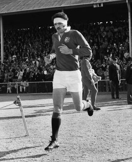 Mervyn Davies runs out for the British Lions against Northern Transvaal in 1974