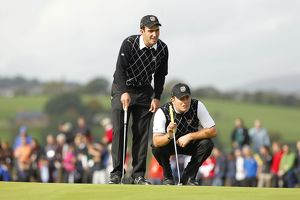 The Molinari brothers - 2010 Ryder Cup
