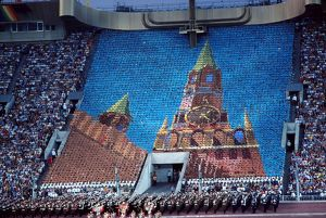 Moscow Olympics - Opening Ceremony