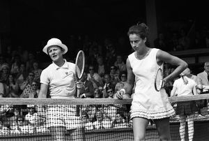 Nancy Richey and Virginia Wade - 1970 Wightman Cup