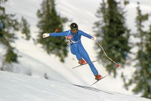 New Zealand's Dean Steward in action at St Anton in 1981