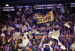 Norwich City fans - 1985 Milk Cup Final