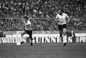 Ossie Ardiles and Ricky Villa during the 1981 FA Cup Final