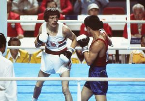 Pat Cowdell at the 1976 Montreal Olympics