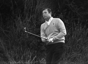 Peter Alliss at the 1969 Ryder Cup