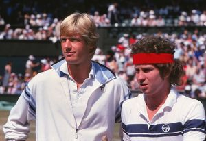 tennis/peter fleming john mcenroe 1979 wimbledon mens