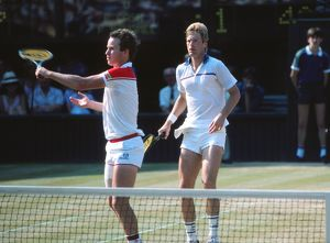 tennis/peter fleming john mcenroe 1984 wimbledon mens