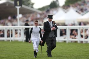 Peter Moody and Luke Nolan at Royal Ascot