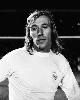 Real Madrid's Gunter Netzer