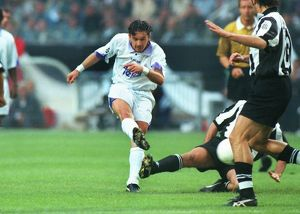 Real Madrid's Predrag Mijatovic during the 1998 Champions League Final