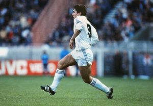Real Madrid's Santillana - 1981 European Cup Final