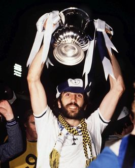 Ricky Villa lifts the FA Cup in 1981