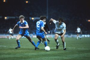 Ricky Villa on the way to scoring his famous FA Cup-winning goal against Manchester