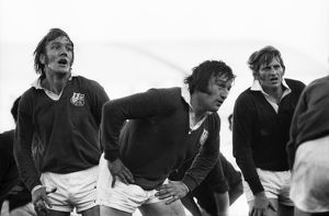 Roger Uttley & Sandy Carmichael - 1974 British Lions Tour to South Africa