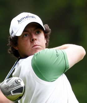 Rory McIlroy at the 2010 BMW PGA Championship