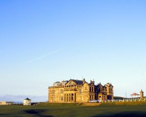 The Royal and Ancient Golf Clubhouse at St. Andrews