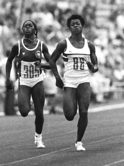 Rufina Uba and Heather Hunte - 1980 Moscow Olympics