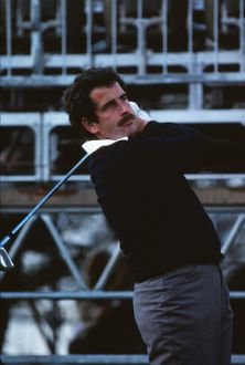 Sam Torrance during the 1981 Ryder Cup