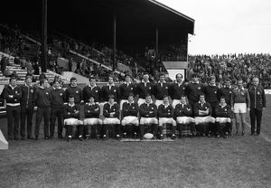 The Scotland team that won the 1984 Calcutta Cup at Murrayfield