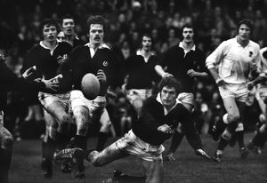 Scotland's Alastair Cranston - 1976 Five Nations