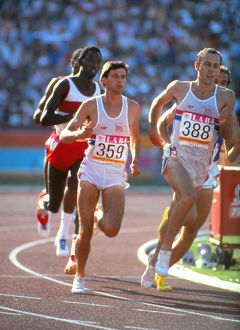 Seb Coe & Steve Ovett at the 1984 Olympics