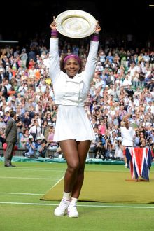 Serena Williams - 2012 Wimbledon Women's Champion